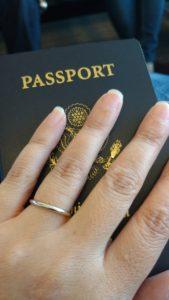 Wearing a wedding ring as a woman traveler